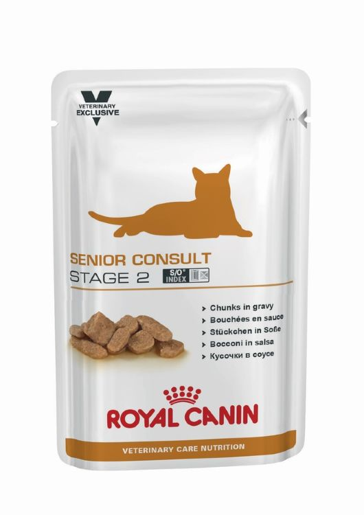 Royal Canin (Роял Канин) Senior Consult Stage 2 WET, 0.1 кг