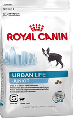 Royal Canin (Роял Канин) Urban Junior Small Dog для щенков мелких пород, живущих в городских условиях, 0.5 кг