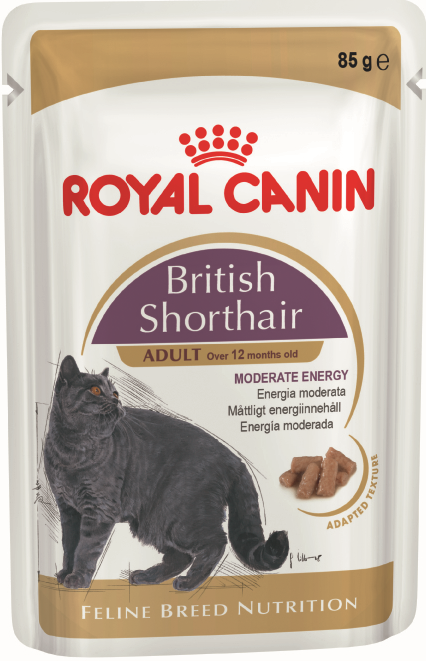 Royal Canin (Роял Канин) British Shorthair Adult (в соусе), 0.085 кг